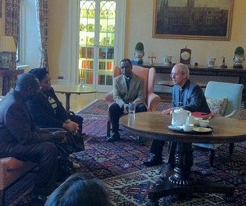 Justin Welby meeting Ignatius Kattey at Lambeth Palace.jpg