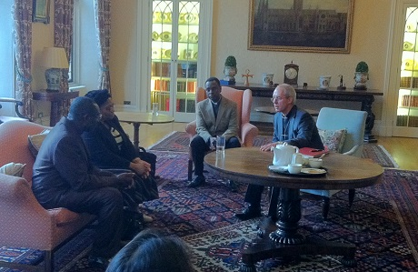 Justin Welby meeting Ignatius Kattey at Lambeth Palace.jpg