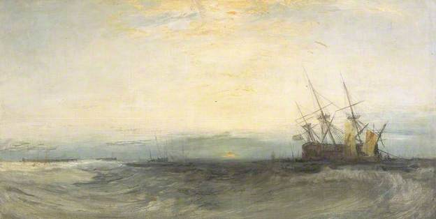 Joseph Turner, A Ship Aground, Yarmouth (1827-8).jpg