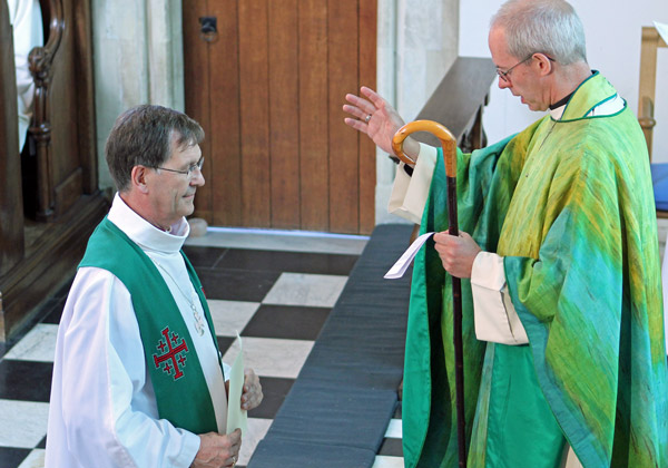 Welby commissioning Nigel Stock as Bishop to the Forces.jpg