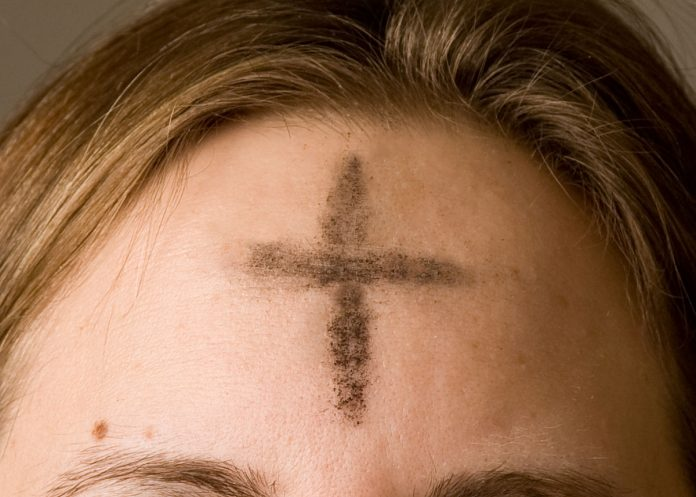 Ash Wednesday ashes on forehead.jpg