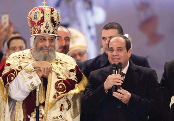 Pope Tawadros and President al Sisi.jpeg