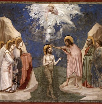 Baptism of Christ -- Giotto.jpg