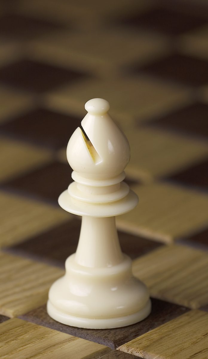 White chess bishop.JPG