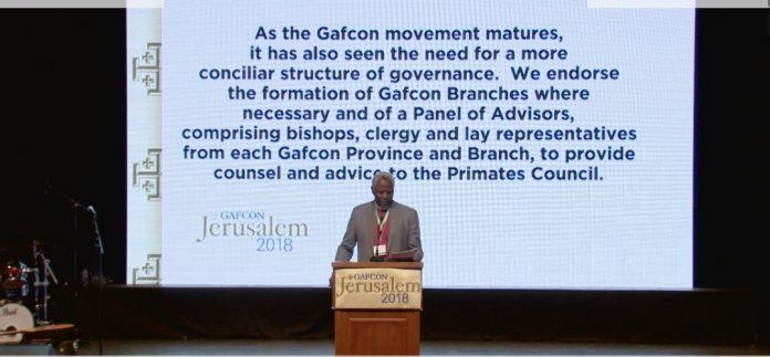Laurent Mbanda reading the GAFCON III Communique - 1.jpg