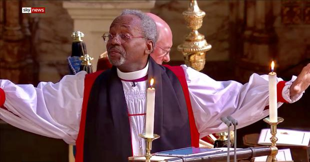 Michael Curry at St George's Windsor for the Royal Wedding.jpg